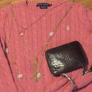 Ralph Lauren ribbed women's sweater